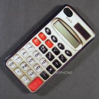 Cool New Calculator Hard Case Cover Skin for Apple iPhone 4S 4G 4 G