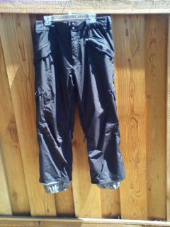Mens Burton Black Snowboard Snowboarding Pants Medium M