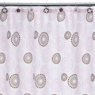 Pnk Dots Butterfly 5 Piece Bath Bathroom Accessory Set New