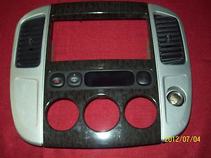 Ford Escape Mercury Mariner radio heater ac bezel 05 06 07 heater