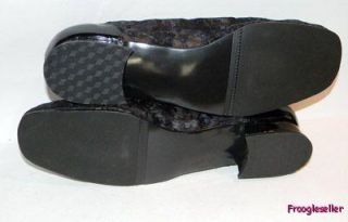 California Magdesians Womens Low Heels Shoes 14 WW Blk