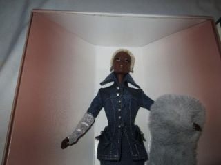Byron Lars Barbie Indigo Obsession Black African American Doll In Box