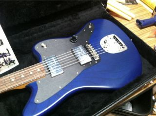 Fender Lee Ranaldo Jazzmaster Sapphire Blue Transparent Rosewood