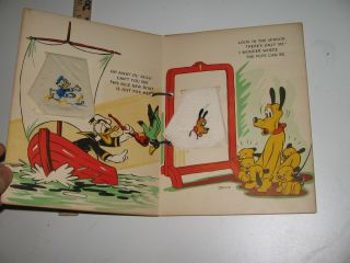 Disney 1939 Hanky Book Mickey Mouse Dopey Donald Duck 3 Three Little