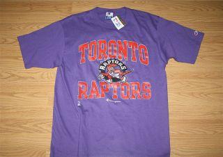 Vintage Toronto Raptors Champion T Shirt 1994 NBA Camby Carter