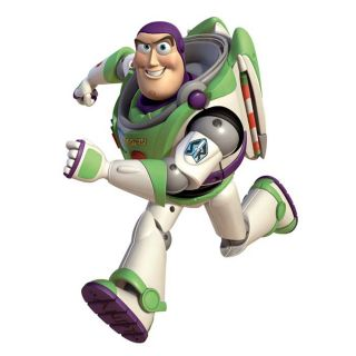 Buzz Lightyear Big Wall Mural Room Sticker Toy Story