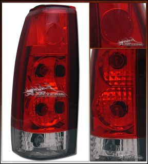 88 02 C10 C K Pickup Suburban Tahoe Blazer Yukon Red Clear altezza