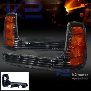 99 00 Cadillac Escalade Corner Parking Bumper Signal Lights GMC Yukon