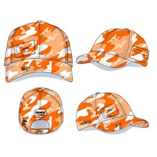 Dale Earnhardt Jr Nation Orange Camo NASCAR Cap Hat New