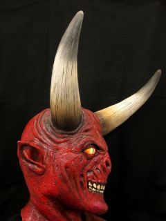 cain halloween mask or prop is a deluxe high quality latex mask this