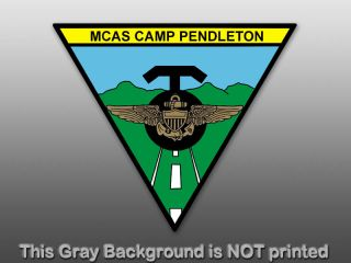 Triangle MCAS Camp Pendleton Sticker Decal Seal Logo Marine Air Corps