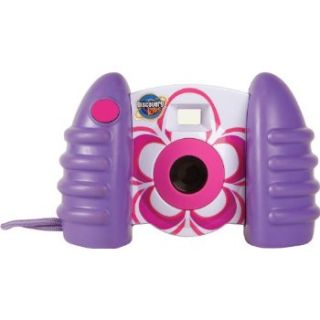 Discovery Kids Digital Camera Purple Full  color 1.5 LCD display USB
