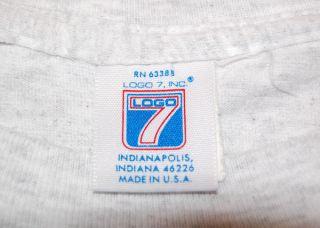 California Anaheim Angels Logo 7 Vintage Baseball Cotton T Shirt Mens