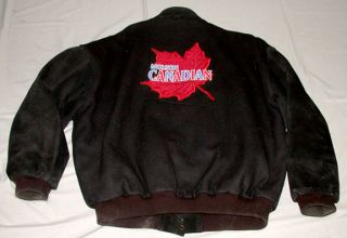 Official Molson Canadian Toronto Maple Leafs NHL Hockey Jacket