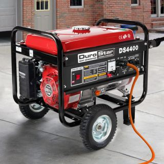 4400 Watt Quiet Portable Recoil Start Gas Powered Generator RV Camping