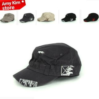 Amykim New Men Cadet Military Hat Ball Cap Unisex Style Hats 10