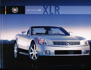 2006 Cadillac XLR XLR V Original Sales Brochure Book