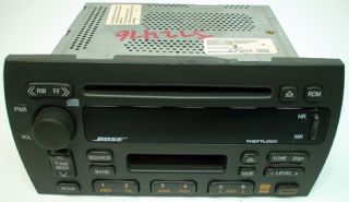 2000 2001 Cadillac Catera Vehicle Model Factory Bose Car Radio Tape CD