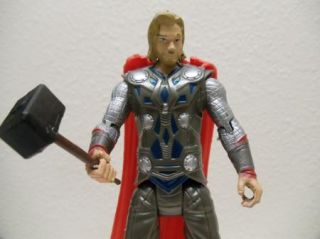 Hero Avengers 6 Thor Birthday Cake Topper Figure w Cape Hammer