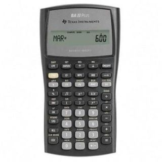 Instruments Ba II Plus Pro Scientific Calculator 033317192045
