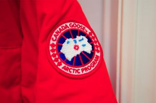 New Canada GOOSE Solaris Bonfire Red Coat Jacket Parka 100 Authentic