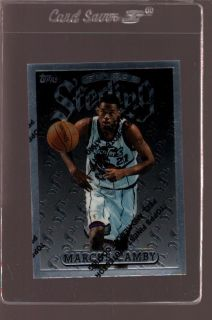 1997 Topps Finest Sterling 258 Marcus Camby RC Mint 504614