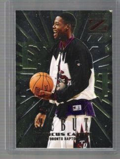 1996 97 Skybox Z Force Marcus Camby Zebut Rookie