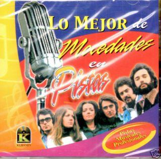 MOCEDADES LO MEJOR EN PISTAS CONTIENE LA LETRA CD