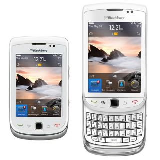 New Blackberry Torch 9800 Unlocked White GSM Cell Phone White
