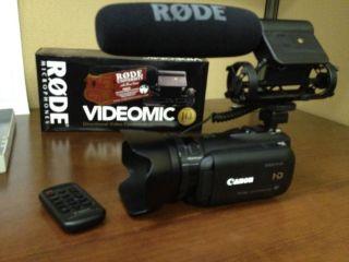 Canon Vixia HF G10 Camcorder Black Full 1080 HD Video Camera w
