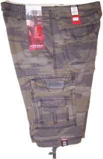 Unionbay Young Mens Cargo Shorts Surplus Camo Y18WY36