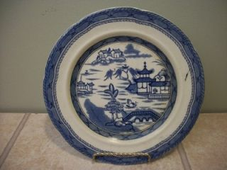 Vintage Ashworth Bros Real Old Canton Ironstone England Dinner Plate