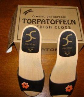New Womens Cape Clogs Black Shoes Euro 40 M U s 9