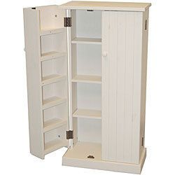 Utility Storage Pantry Cabinet Kitchen Food Storage Space Canned Goods