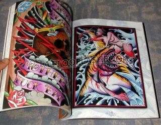 Martin Lacasse Tattoo Flash Ink Gun Kit Machine Book