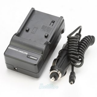New Digital Camera Battery Charger for Sony Handycam DCR SR47 DCR SR62