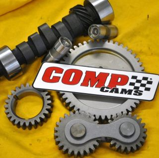 SBC Chevy Big Thumper Mutha Thumpr Cam Camshaft Kit Gear Drive