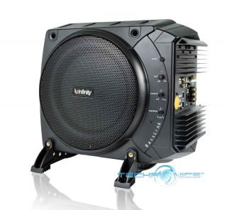 BASSLINK +2YR WARANTY CAR 10 200W POWERED AMPLIFIED SUBWOOFER SYSTEM