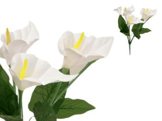 84 Silk Calla Lily Flowers for Wedding Bouquets Centerpieces Wholesale