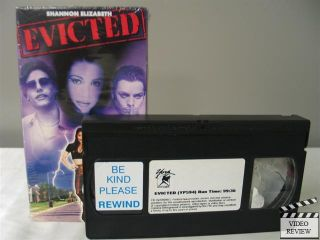 Evicted VHS Michael Tierney Terence Tierney Shannon Elizabeth Alvis Le