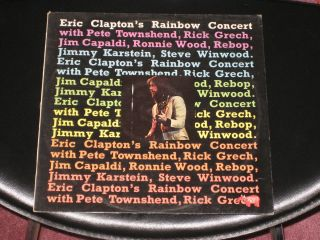 Rainbow Concert 1973 LP UK Import Townsend Wood Capaldi Winwood