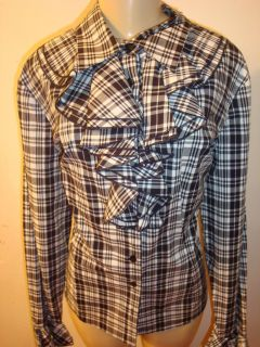 Black White Shirt Size 20