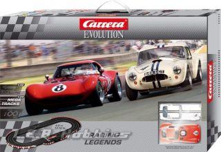 Carrera 25184 Evolution Racing Legends Slot Car Race Set