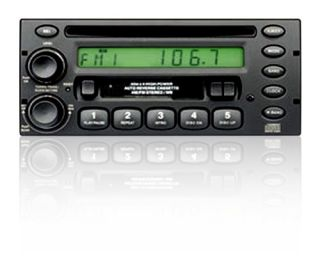 din cd cassette car stereo radio receiver player