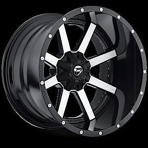 PC Maverick Black Machined Rim Truck Wheels Falken Tires