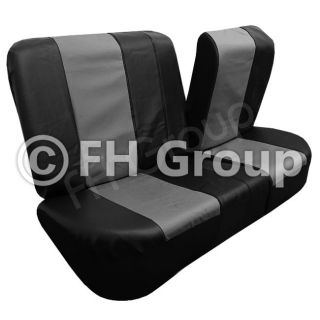 FH PU006112 Synthetic Leather Car Seat Covers Airbag Ready Split Bench