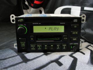 1999 Toyota Solara CD Cassette Car Stereo Radio 86120 AA020