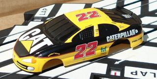 NASCAR Style Slot Car Body Cover for LifeLike HO Scale Slot Cars (Car