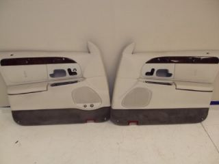 2000 lincoln town car driver passenger door panels