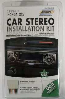 Metra Car Stereo Installation Kit IBR 807HD 1989 Honda